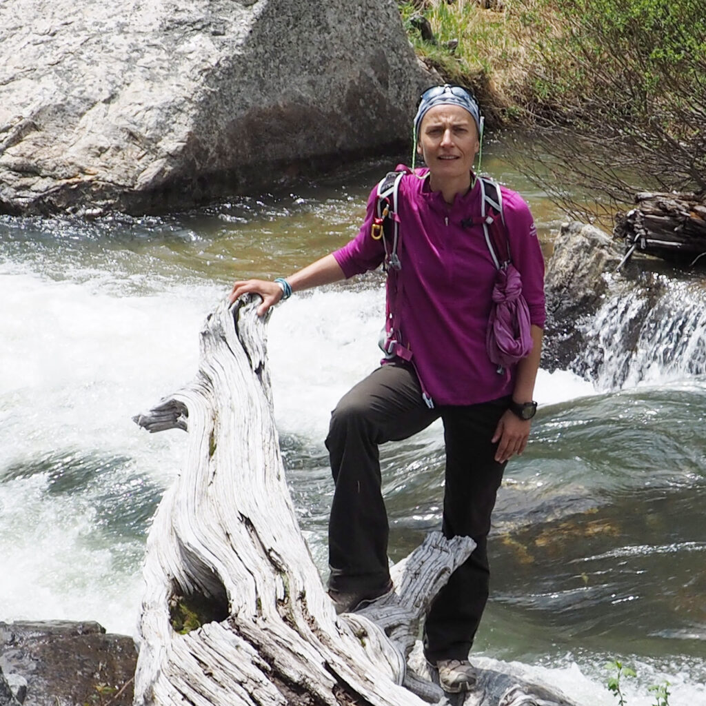Portrait de Gisèle Lafond, aventurière et exploratrice