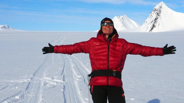 Gisèle Lafond, Expédition Spitzberg Arctique 2015