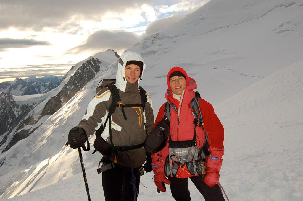 Gisèle Lafond, alpiniste