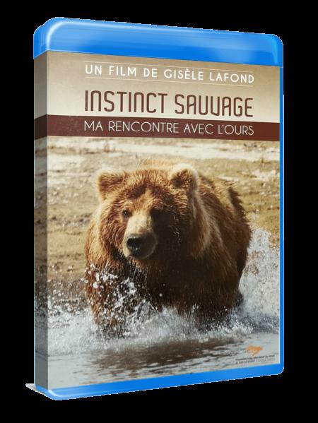 """Bluray """"Instinct sauvage : ma rencontre avec l'ours"""" réalisé par Gisèle Lafond"""