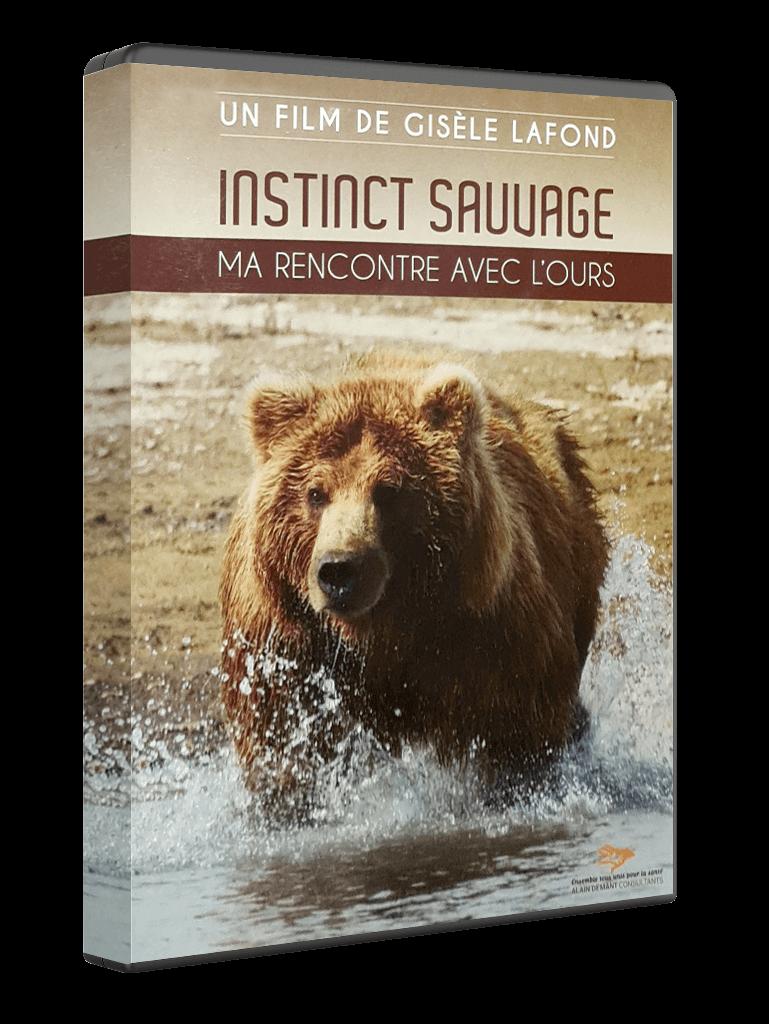 """DVD """"Instinct sauvage : ma rencontre avec l'ours"""" réalisé par Gisèle Lafond"""