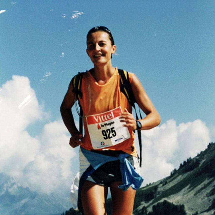 Gisèle Lafond, sportive de haut niveau
